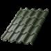 Металлочерепица Монтерроса  0.5 мм 3,25*1,17 ( RAL 6007 )